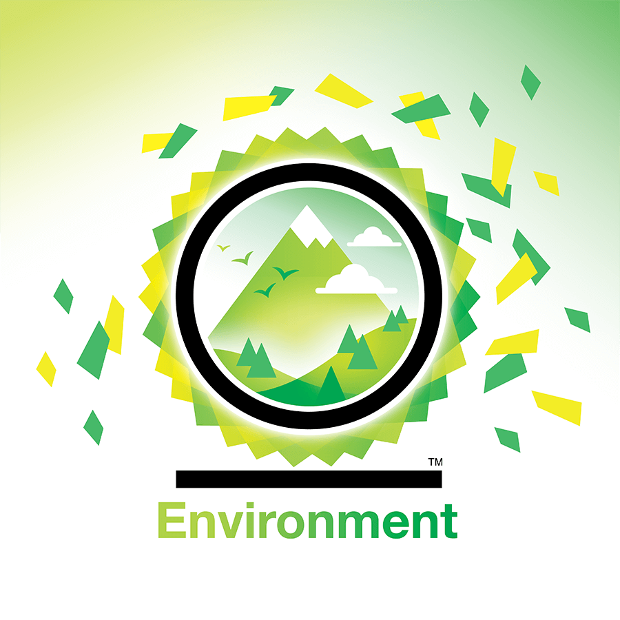 Best for the world environment badge