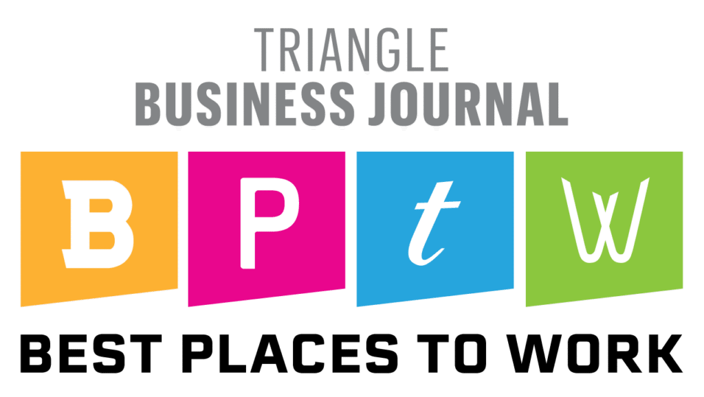 Best Places to Work in the Triangle Award Logo