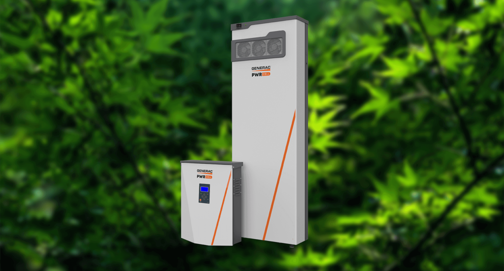 Generac PWRcell battery cabinet and inverter