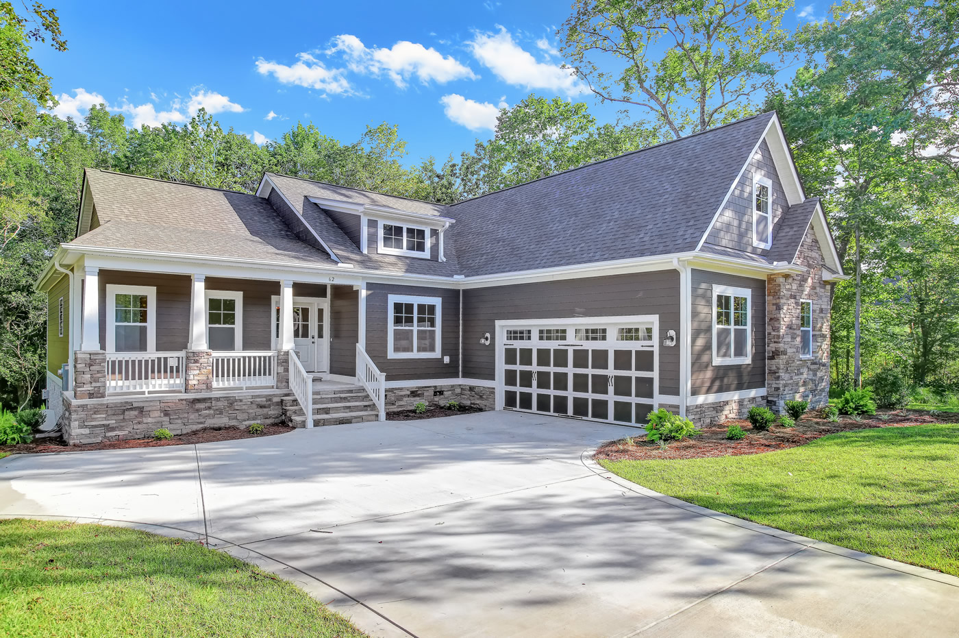 A home that received a HERS score by Southern Energy Management.