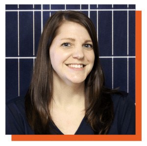 Kelley Breslow, solar project manager at Southern Energy Management