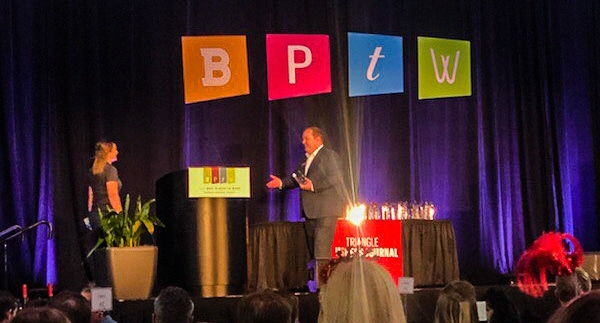 Southern Energy Management Accepting TBJ Best Places to Work Award 2018