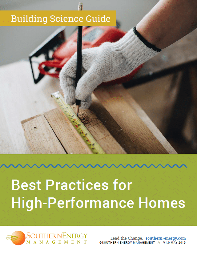 Preview of the cover of the Best Practices for High-Performance Homes