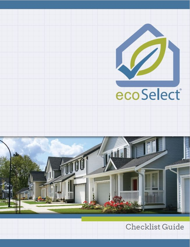 Cover of the ecoSelect Checklist Guide