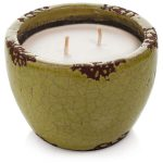 A ceramic mosquito repellent candle from Murphy's Naturals